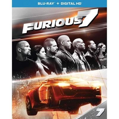 Furious 7 (Hobbs & Shaw Movie Cash) (Blu-ray + Digital)
