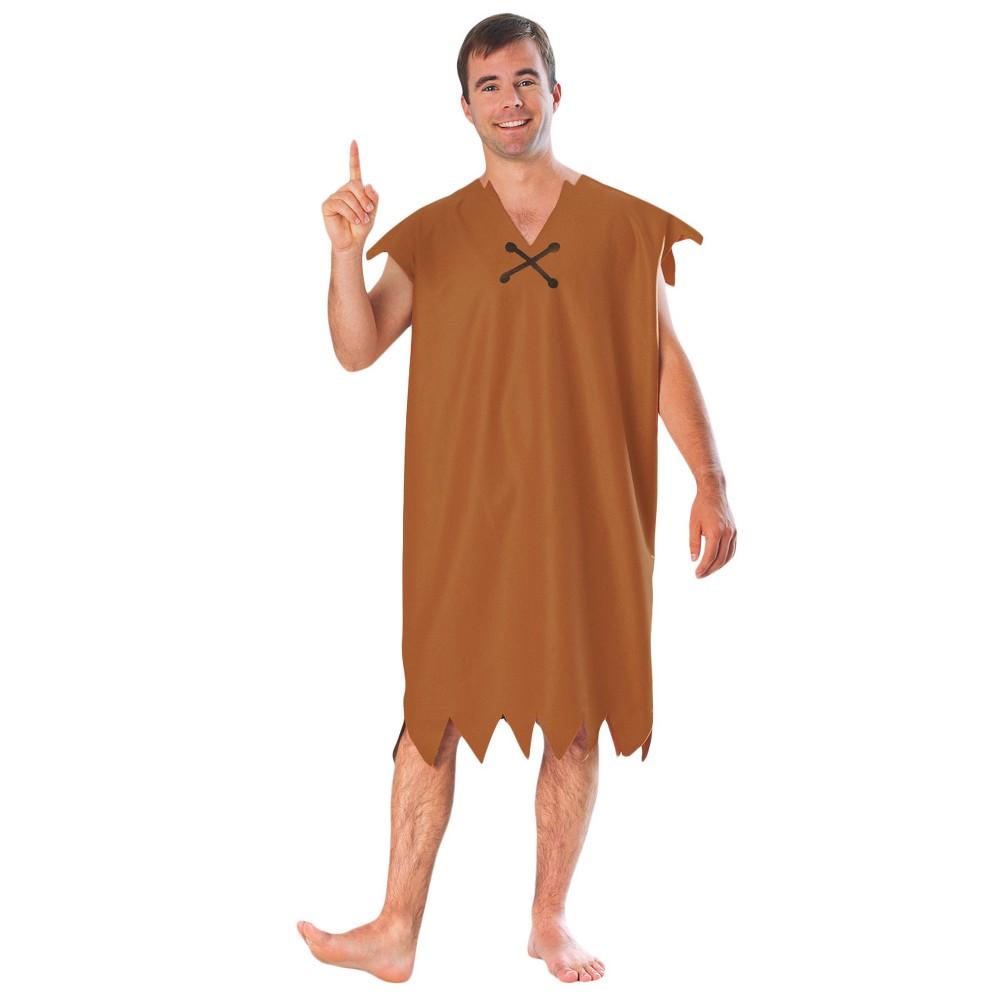 Image of Halloween Flintstones Barney Adult Costume, Men's, Size: XL (42-46), Brown