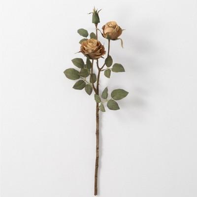 """Sullivans Artificial Rose Stem 21.5""""H"""