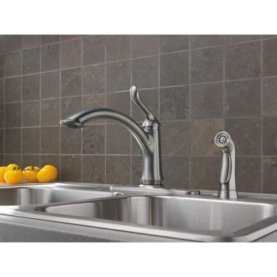 Merveilleux Delta Faucet 4453 DST Linden Kitchen Faucet