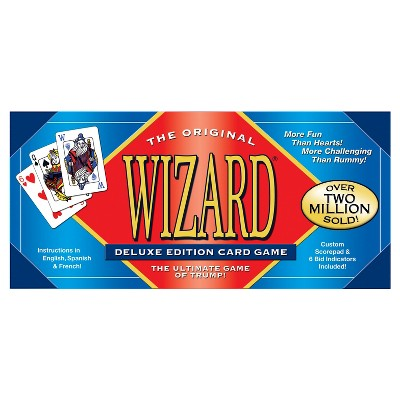 U.S. Games Systems Wizard Card Game - Deluxe Edition