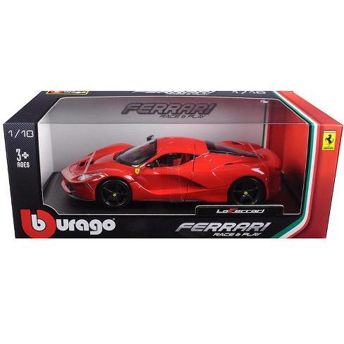 Ferrari Laferrari F70 Red With Black Wheels 1 18 Diecast Model Car By Bburago Target