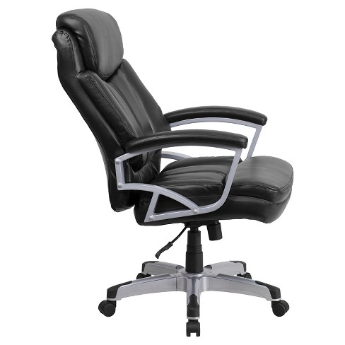 Hercules Series 500 Lb Capacity Tall Executive Swivel Office Chair Black Leather Flash Furniture Target