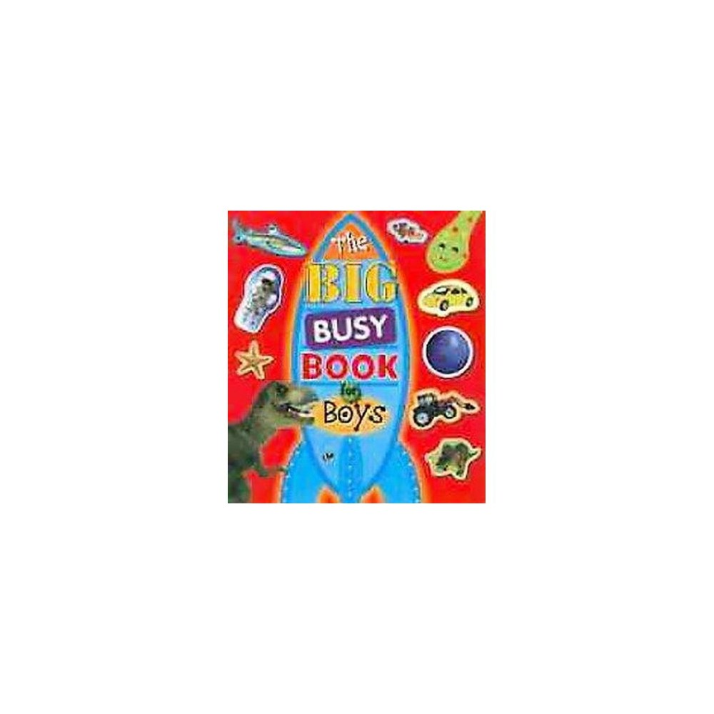 The Big Busy Book for Boys (Paperback) by Make Believe Ideas Ltd.