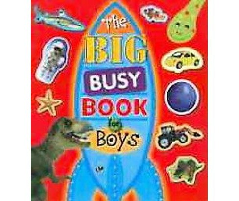 The Big Busy Book for Boys (Paperback) by Make Believe Ideas Ltd. - image 1 of 1