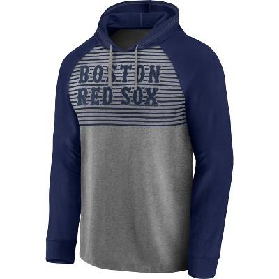 MLB Boston Red Sox Men's Lightweight Bi-blend Hoodie