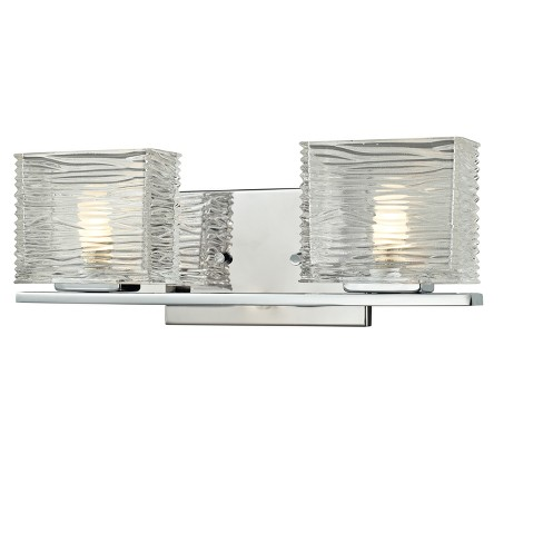 Vanity Wall Lights with Clear Glass (Set of 2) - Z-Lite - image 1 of 1