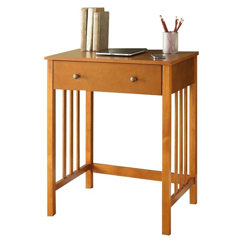 Mission Desk - Oak - Convenience Concepts - image 1 of 3
