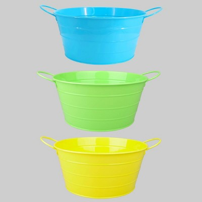 3ct Iron Beverage Bucket Pastel - Bullseye's Playground™