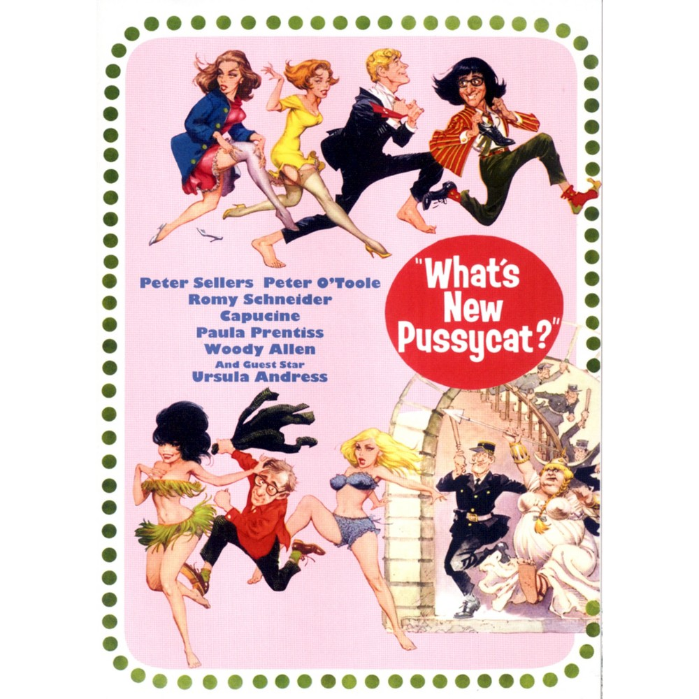 What's New Pussy Cat (Dvd)