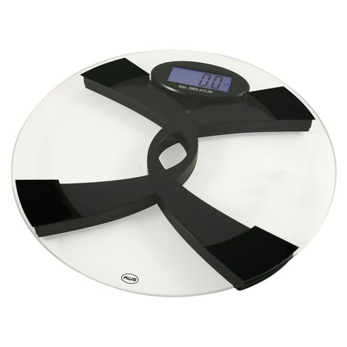 American Weigh Scales Talking Bathroom Scale - 396TBS - image 1 of 2