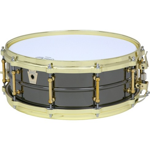 Ludwig Black Beauty Brass on Brass Snare Drum Brass 14 x 5 in. - image 1 of 2