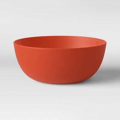 37oz Plastic Cereal Bowl Orange - Room Essentials™