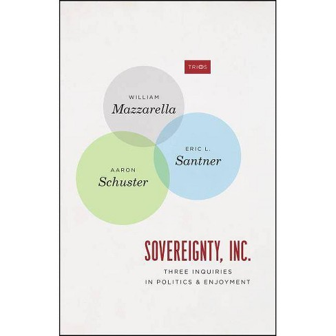 Sovereignty, Inc. - (Trios) by  William Mazzarella & Eric L Santner & Aaron Schuster (Paperback) - image 1 of 1