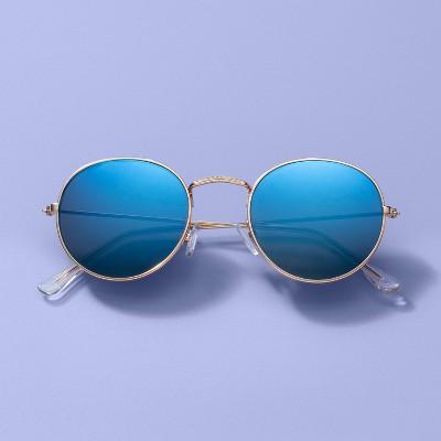 Kids' Metal Round Sunglasses - More Than Magic™ Gold