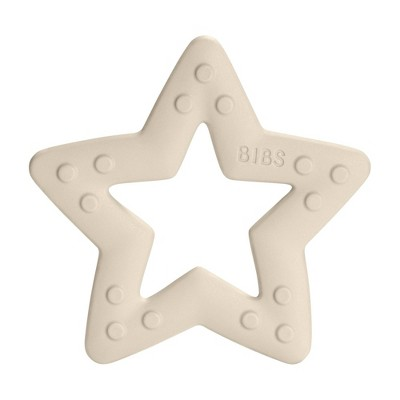 Bibs Baby Bitie Star Teether - Ivory
