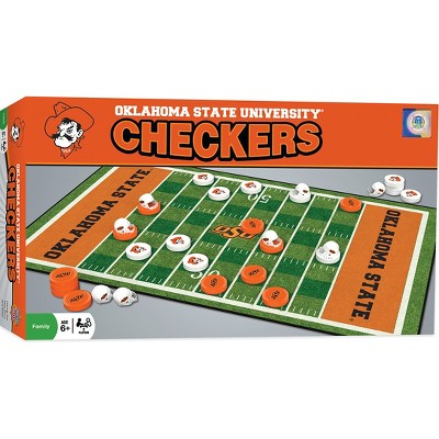 MasterPieces NCAA Oklahoma State Checkers Board Game