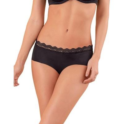 Leonisa Midrise Lace Waistband Cheeky Panty