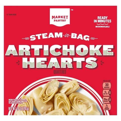 Frozen Steam In Bag Artichoke Hearts - 10oz - Market Pantry™ - image 1 of 1