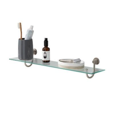 Glass Shelf Nickel - Neu Home