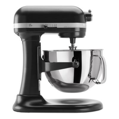 KitchenAid Refurbished Professional 600 Series 6qt Bowl-Lift Stand Mixer Black Licorice - RKP26M1XLC