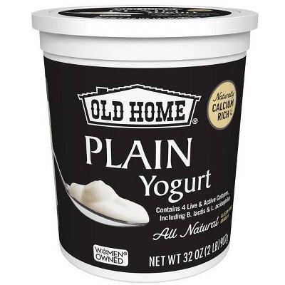 Old Home Plain Yogurt - 32oz