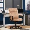 Executive Chair Velvet Microfiber - Serta - image 2 of 4