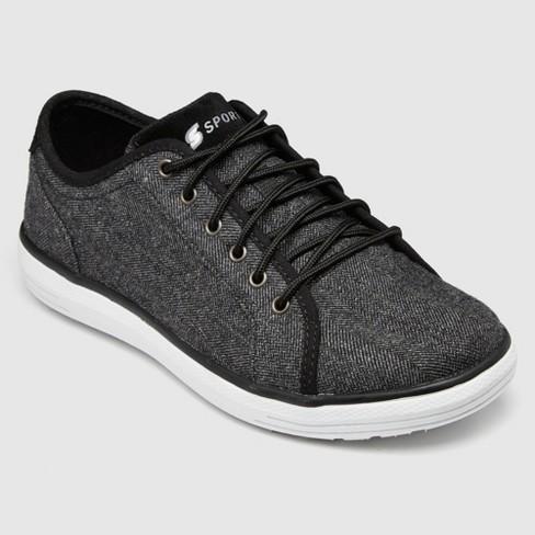 Men's S Sport By Skechers Nico Herringbone Sneakers - Charcoal - image 1 of 4