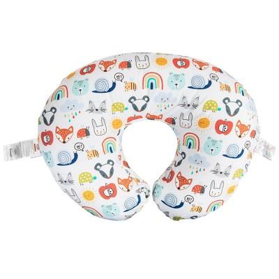 Boppy Original Nursing Pillow Cover Colorful Animals & Rainbows