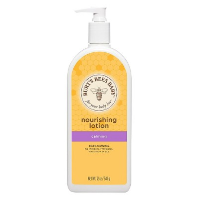 Burt's Bees Baby Nourishing Lotion, Calming - 12oz