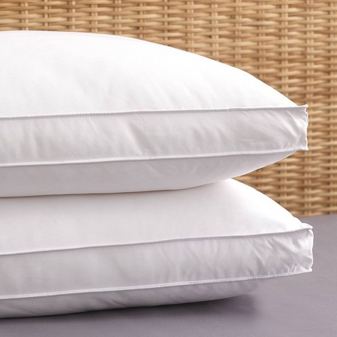 """2pk Allergen Barrier Bed Pillow with 2"""" Gusset - PureShield - image 1 of 3"""