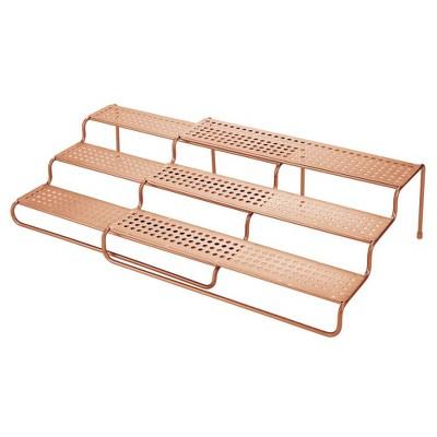 mDesign Adjustable/Expandable Kitchen Organizer Spice Rack