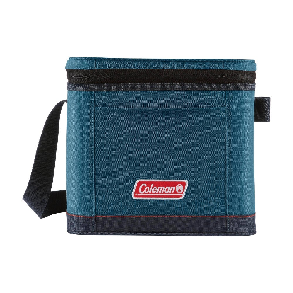 Coleman 9 Can Soft Cooler Bag Space Blue
