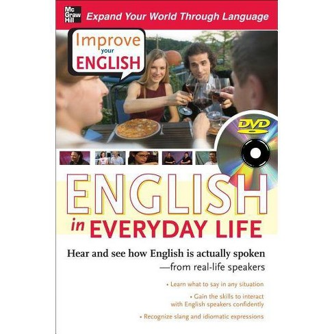 English in Everyday Life - (Improve Your English) by  Stephen E Brown & Ceil Lucas (Mixed media product) - image 1 of 1