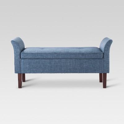 Storage Settee Bench- Indigo - Threshold™