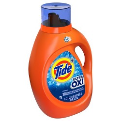 Tide Plus Ultra Oxi Liquid Laundry Detergent - 92 fl oz