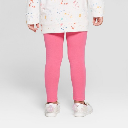 2ba953fed3140 Toddler Girls' Leggings - Cat & Jack™ Paradise Pink 3T : Target