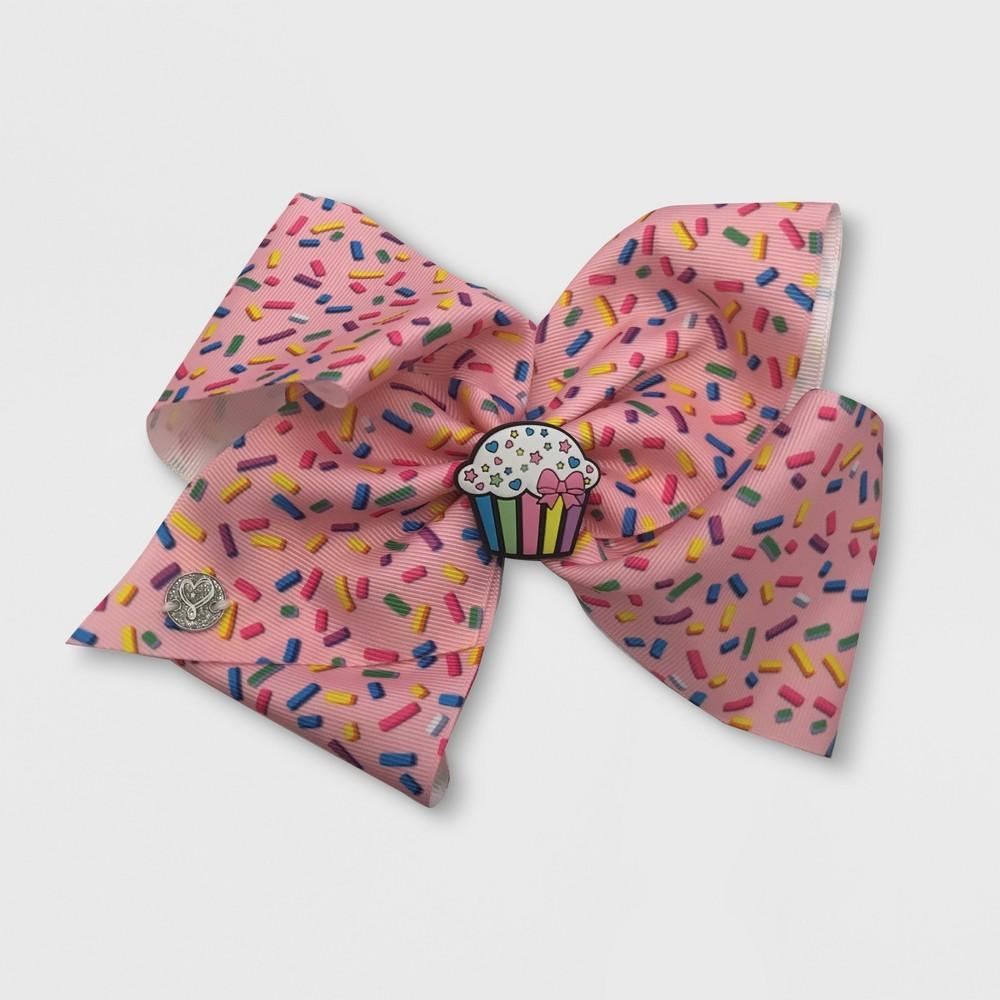 Girls' JoJo Siwa Cupcake Scented Bow Hair Clip, Multi-Colored