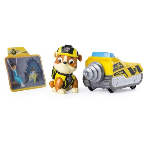 Paw Patrol Mission Paw - Rubble's Mini Miner - Figure and Vehicle - image 1 of 3