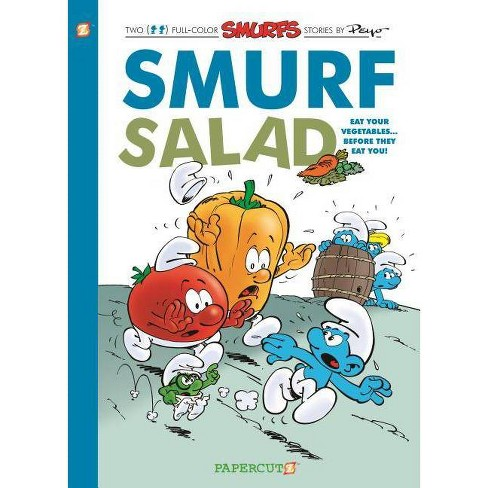 The Smurfs: Smurf Salad - (Smurfs Graphic Novels) by  Peyo (Hardcover) - image 1 of 1