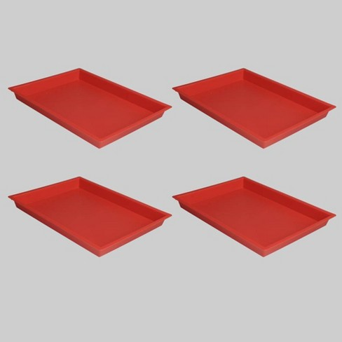 4ct Plastic Craft Trays - Bullseye's Playground™ - image 1 of 1