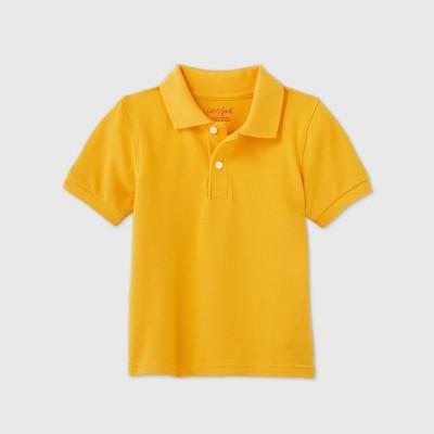 Toddler Boys' Short Sleeve Stretch Pique Uniform Polo Shirt - Cat & Jack™
