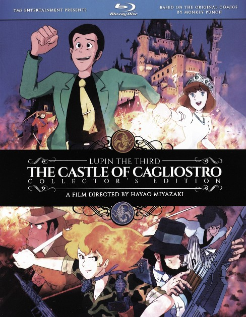 Lupin the 3rd:Castle of cagliostro (Blu-ray) - image 1 of 1