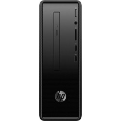 HP Slimline 290-a0000 290-a0030 Desktop Computer - A-Series A4-9125 - 4 GB RAM - 1 TB HDD - Mini-tower - Dark Black - Windows 10 Home - AMD