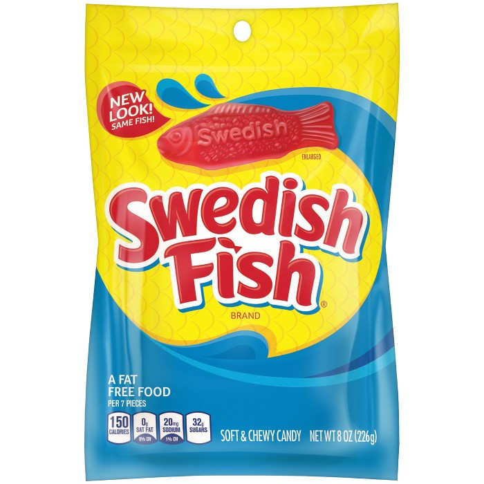 Swedish Fish Fat Free Soft & Chewy Candy - 8oz - image 1 of 2