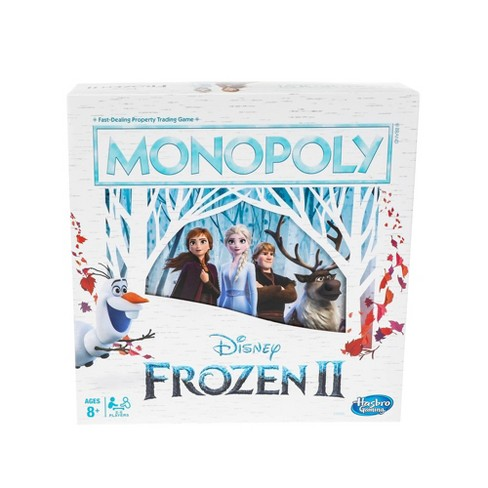 Monopoly Game: Disney Frozen 2 Edition Board Game - image 1 of 4