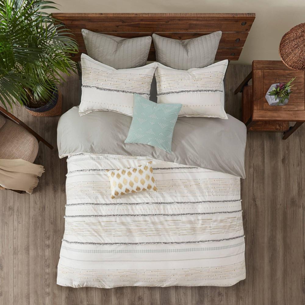 Nea Full Queen 3pc Cotton Printed Comforter Set