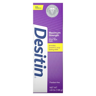 Desitin Maximum Strength Diaper Rash Treatment 4.8oz