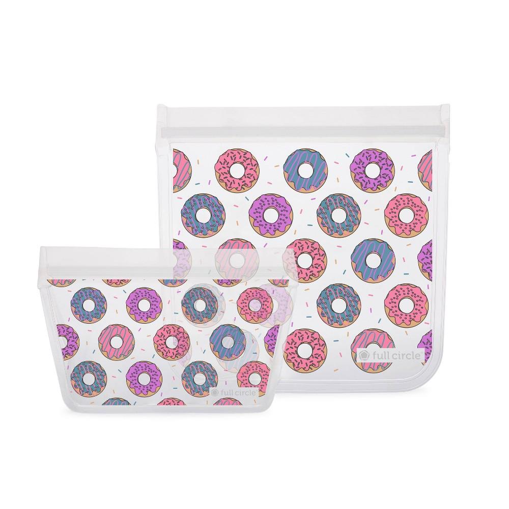 Image of Full Circle 2pk Sandwich Bag - Donuts