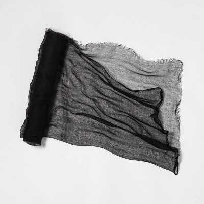 "6"" Gauze Cloth Black Halloween Decorative Prop - Hyde & EEK! Boutique™"